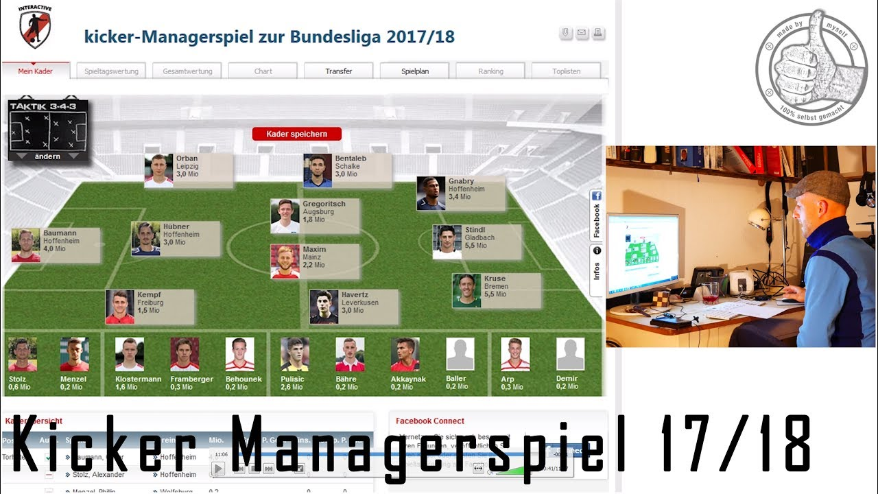 Kicker Managerspiel