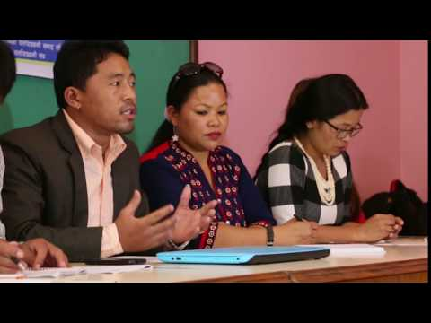 LOMBA|| Ani Budha Magar|| Nepal Indigenous Nationalities Film Festival, Kathmandu 2017. Press Meet.