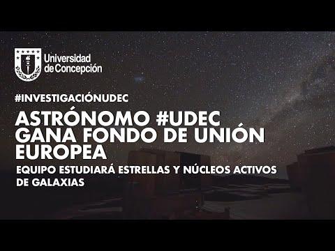 #InvestigaciónUdeC: Astrónomo #UdeC gana fondo de la Unión Europea