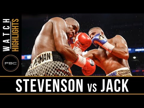 Stevenson Vs Jack HIGHLIGHTS: May 19, 2018 - PBC On SHOWTIME