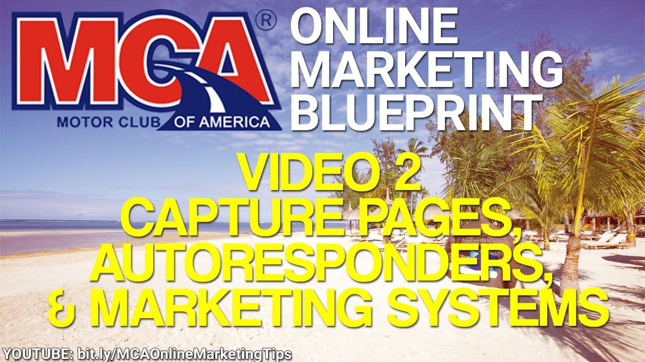 Mca online marketing blueprint 2 capture pages autoresponders mca online marketing blueprint 2 capture pages autoresponders and marketing systems malvernweather Choice Image