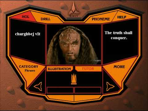 Star Trek: Klingon - Language Lab (Part 1)