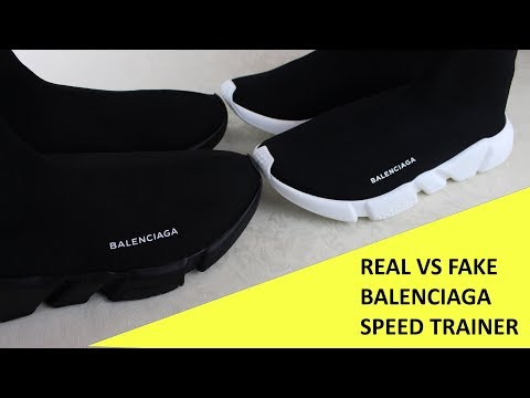 HOW TO SPOT FAKE BALENCIAGA SPEED TRAINERS | Authentic vs Replica Balenciaga Review Guide