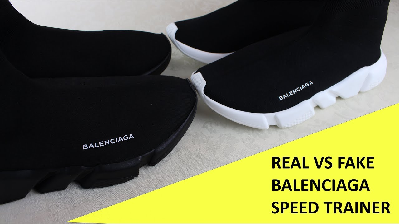 2640152ce5778 HOW TO SPOT FAKE BALENCIAGA SPEED TRAINERS