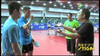2016 Training for Rio Olympics ► XU Xin 许昕 FAN Zhendong 樊振东(Many Thanks to chinese channel • http://v.qq.com/vplus/ppwg || Stiga ▻Follow Janus@Facebook • http://facebook.com/TTJanus ▻Get Worldwide Table Tennis ..., 2016-07-30T18:31:00.000Z)