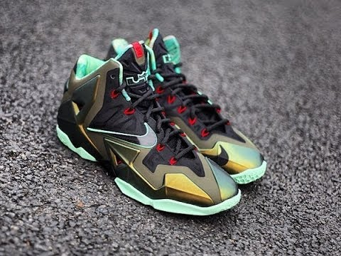 check out 7a48e af267 Nike Lebron 11 Kings Pride Review