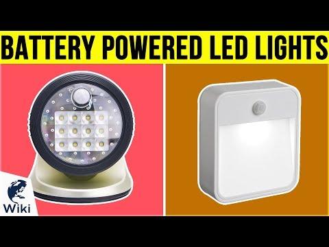 10 Best Battery Powered LED Lights 2019