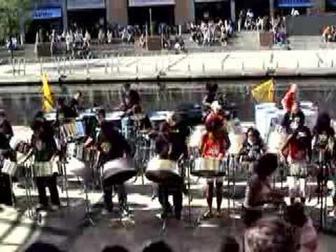 RASPO PANtastic Steel Band play Arrow&39;s &39;Hot Hot Hot&39;