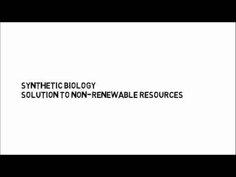 Synthetic Biology: Solution to non-renewable resources