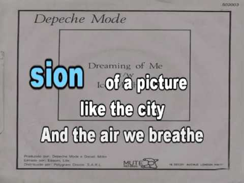 Depeche Mode   Ice Machine (Karaoke)