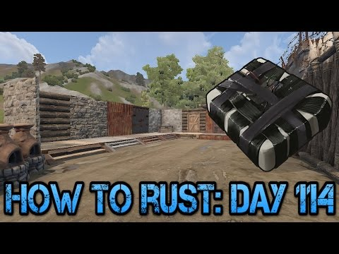 C4 Raid Information! | How To Rust: Day 114!