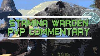 Stamina Warden PvP Commentary - Elder Scrolls Online