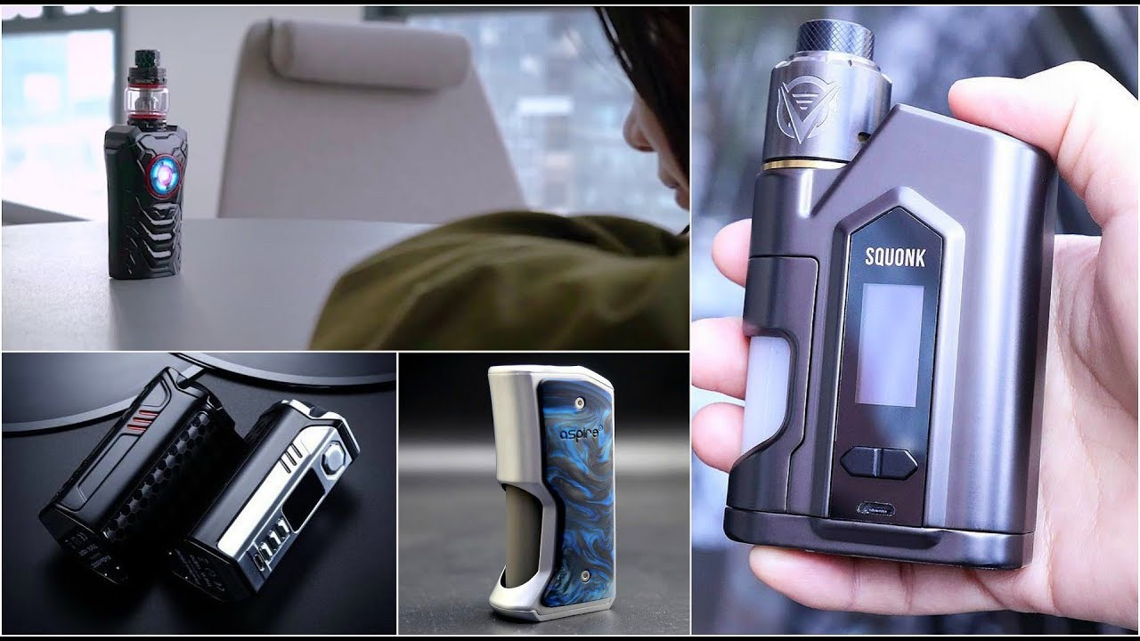 New Regulated Squonkers ~ Smok Voice Controlled Mod | VapeGearNews