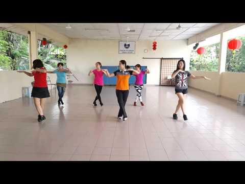Kickick Line Dance ~ Miku Polkka