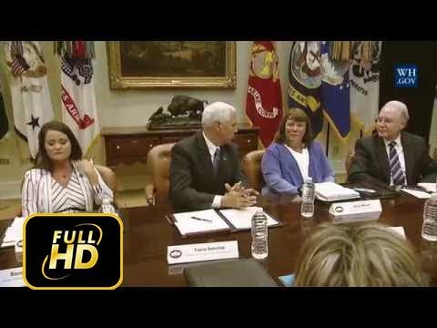 Mike Pence Health Care Listening Session with Women Entrepreneurs