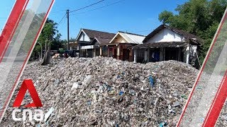 Indonesian village becomes dumping ground for plastic waste