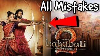 BAHUBALI 2 Shocking Mistakes | Prabhas | SS Rajamouli | Anushka Shetty