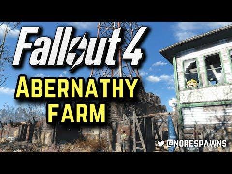Fallout 4 - Abernathy Farm Settlement Tour