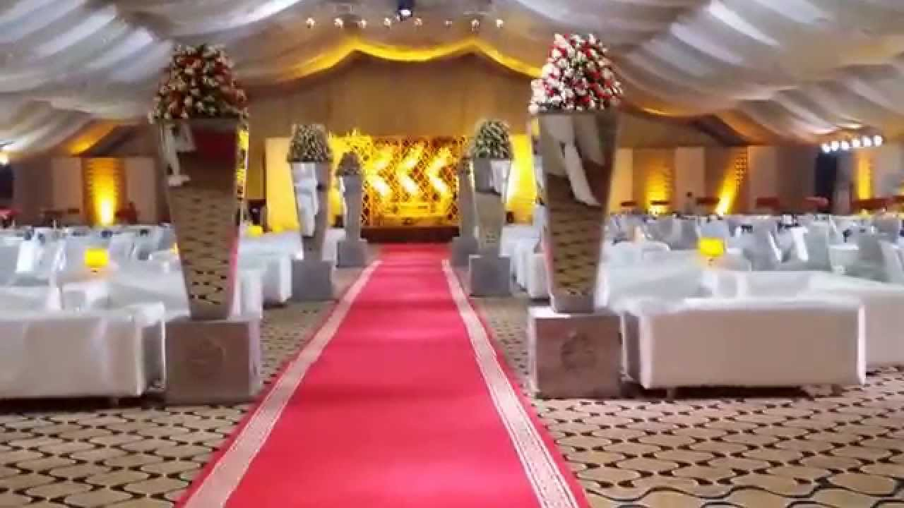 Wedding Planner Stage Decoration Eastern Marquee Lahore Pakistan Youtube