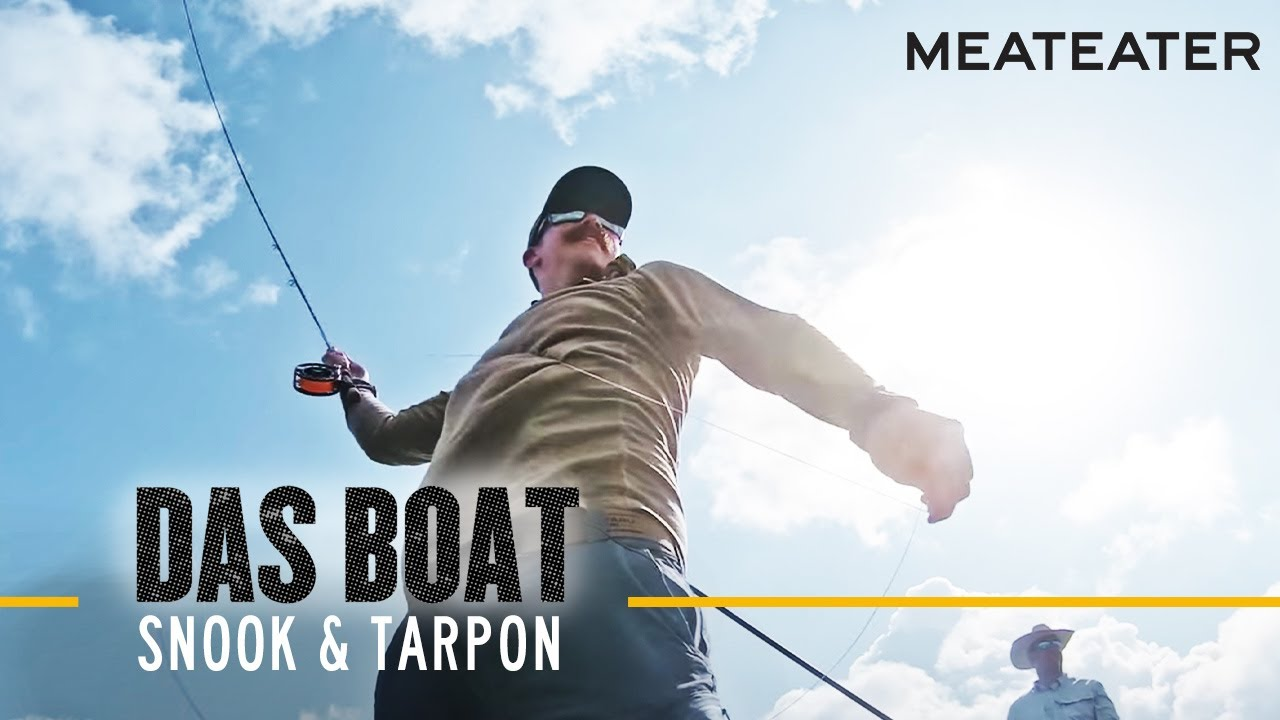 Das Boat Episode 3: Ryan Callaghan and Ed Anderson Go Looking for Snook and Tarpon