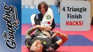 4 Awesome hacks to finish a triangle - Every time!