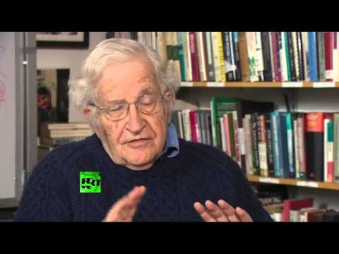 Chomsky: 'US invades, destroys country - that's stabilization. Someone resists - destabilization'