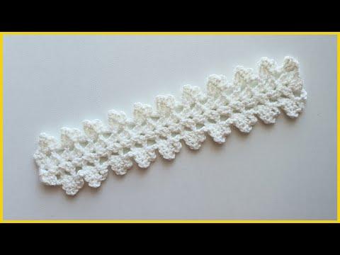 Ленточное кружево. Вязание крючком / Ribbon Lace