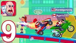 Happy Racing - Gameplay Walkthrough Part 9 - New Online Race (iOS)