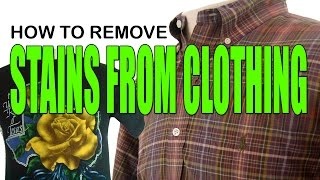 HOW TO REMOVE ARMPIT STAINS FROM CLOTHING THE EASY WAY