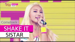 [Comeback Stage] SISTAR - SHAKE IT, 씨스타 - 쉐이크 잇, Show Music Core 20150627
