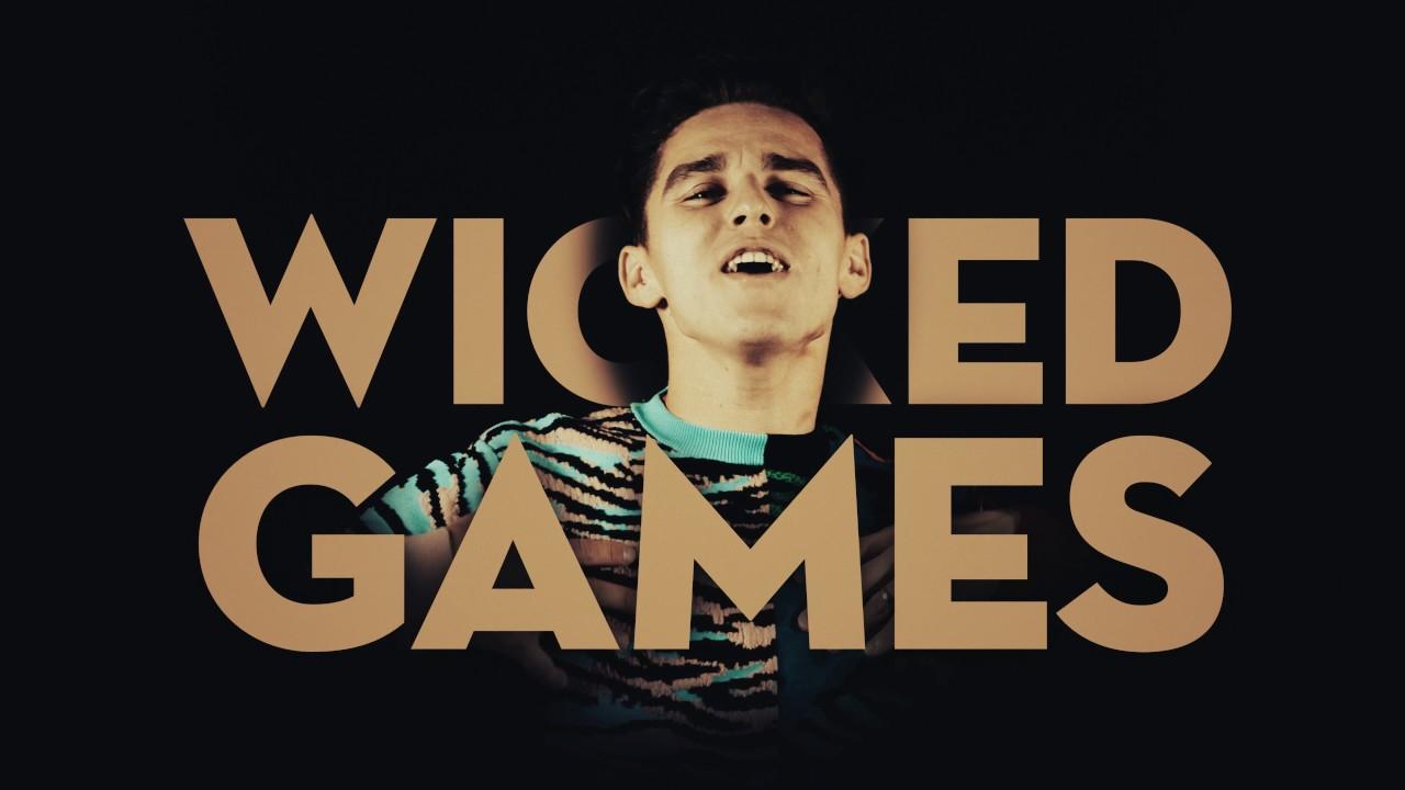Radistai DJs ft. Donny Montell - Wicked Games (Lyrics Video 4k)