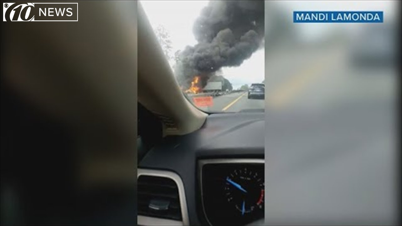 6 killed, others injured in fiery crash on Florida