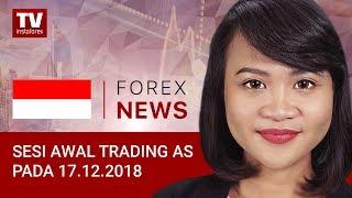 InstaForex tv news: 17.12.2018: Trader menantikan rapat FOMC: EUR, USD