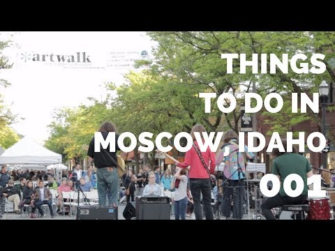 THINGS TO DO IN MOSCOW, IDAHO || 001 || Moscow Art Walk || By Chris and Natalie Carpenter