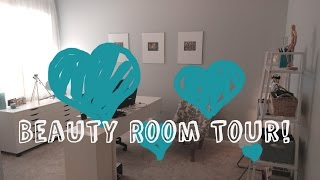 Beauty Room Tour! | Beth K Beauty