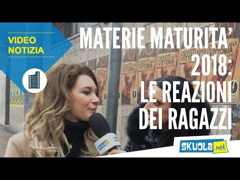 Materie Maturità 2018: i commenti dei ragazzi