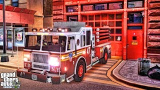 Grand Theft Auto IV - FDLC/FDNY - 59th day with the fire department!