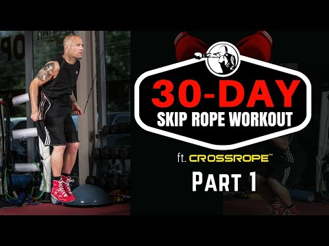Learn to Skip Rope in 30 Days | ft. Crossrope | Days 1-10
