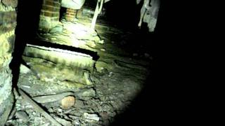 Home Inspection Asbestos material in crawlspace.AVI
