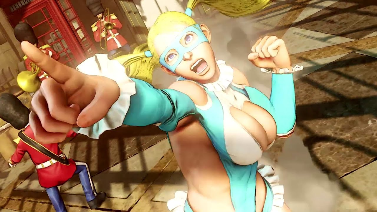 Street Fighter Mika Nude
