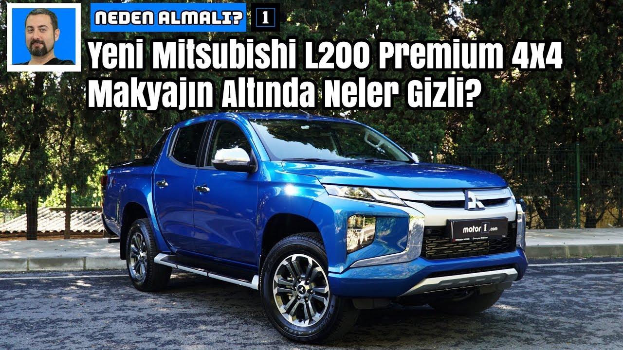 Yeni Mitsubishi L200 Premium 4x4 | Makyajın Altında Neler Gizli? | Neden Almalı?