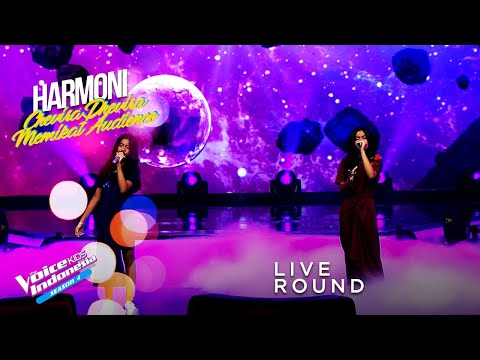 Chevira \u0026 Dhevira - Anganku Anganmu | Live Round | The Voice Kids Indonesia Season 4 GTV 2021