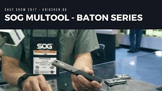 Brand new SOG multitool Baton series - Q1,Q2,Q3 and Q4