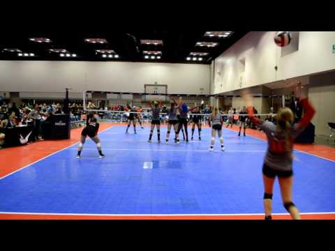 Keelyn Kistner* SETTER*  FULL MATCH - 2017 MidEast Qualifiers - Indianapolis, IN