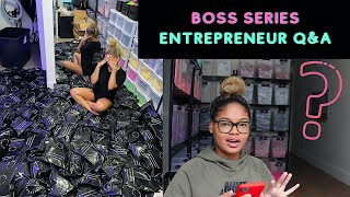 BOSS SERIES: EP.1 // STARTING A BUSINESS, WHAT TO DO, ENTREPRENEUR Q&A
