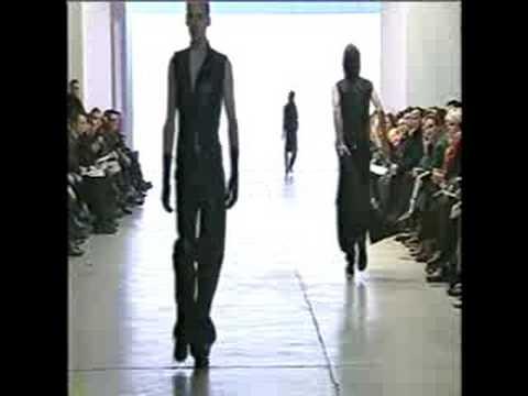 4d0cd9ae65 Yves Saint Laurent Homme fall winter 2000/ 2001 - part 1