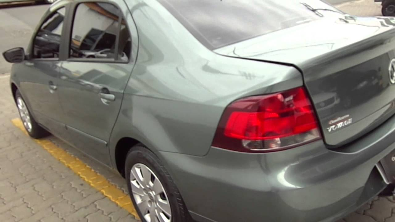 What Is A Sedan >> Volkswagen Voyage Trend 1.6 8v (Totalflex) 2009 - YouTube