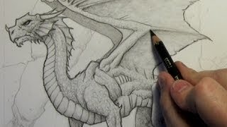 How to Draw a Dragon: Step-By-Step (Narrated Version)(