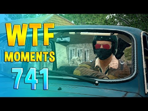 PUBG WTF Funny Daily Moments Highlights Ep 741