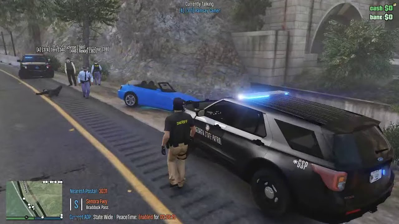 [Watch LIVE] GSRP - LEO #22 - Supervisor Patrol Again
